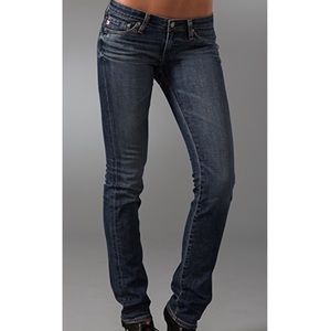 ~Ag Women's Charlotte Straight Leg Denim Jeans~